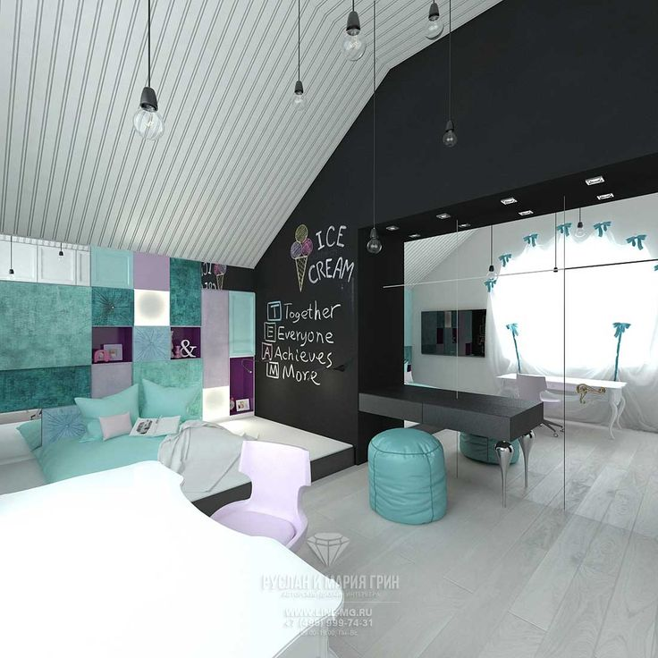 Дизайн гостевой детской комнаты для девочки. Фото интерьера 2015 года…