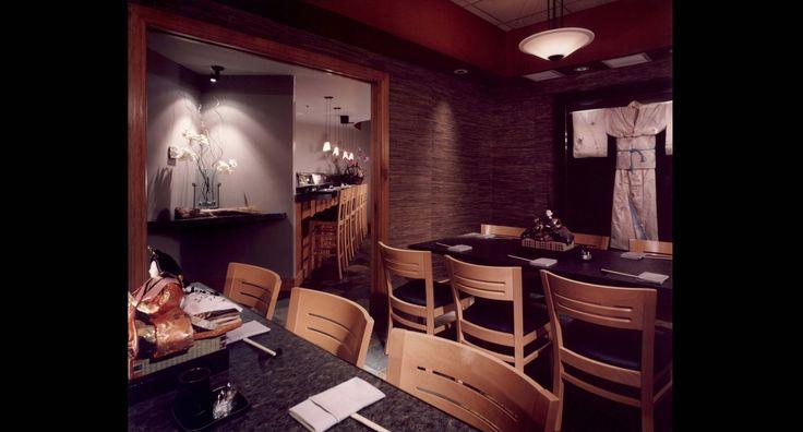 Sushi Restaurant Designer Raymond Evans Design Austin Texas Bar