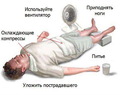 Тепловой и солнечный удары: первая помощь — Полезные советы