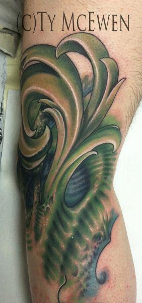 Bio Organic Tattoo Artist: Ty McEwen – Tattoo And Fine Art www.tymcewen.com