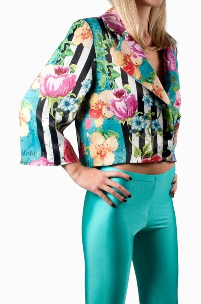 Jacket Print Floral