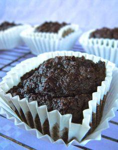Muffins de Chocolate {Sin gluten, Sin cereales, Sin azucar}