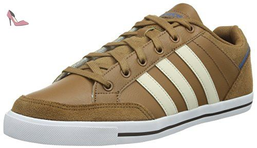 new arrivals b7ce4 cc377 adidas Cacity, Chaussures de Sport Homme, Marron, Marron  beige  bleu  (bois  ivoire  bleu roi), 42.666666666666664 - Chaussure…