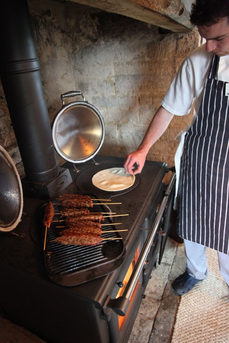 Gil cooking at River Cottage, he's such a cutie!