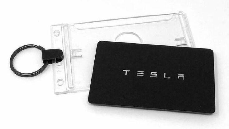 Ebay Advertisement Tesla Model 3 Key Card Holder For Valet And