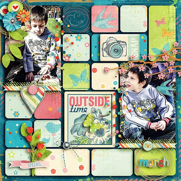 Capturing Life: March By Blagovesta Gosheva Templates Everyday memories vol. 1. by Tinci Designs