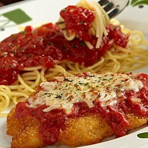 Chicken Parmigiana from Olive Garden = YUM!