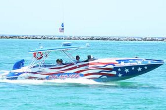 Private Boat Charter in Destin Customize your day on the water with this private boat charter. Tell the captain where you want to go and for how long, and they'll do the rest. Enjoy having the boat all to yourself and the gorgeous waters of the Destin Harbor with this private boat charter.At either 10am or 4:30pm, arrive at the Screaming Eagle Sports Kiosk, located at 314 Harbor Boulevard. Meet your professional guide and follow them onto your private boat for the day. Decide...