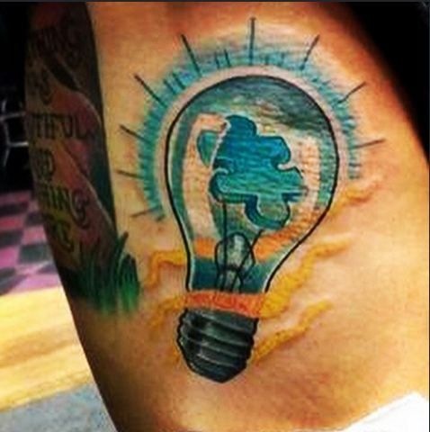 1000 ideas about autism awareness tattoo on pinterest for Tattoo tip percentage