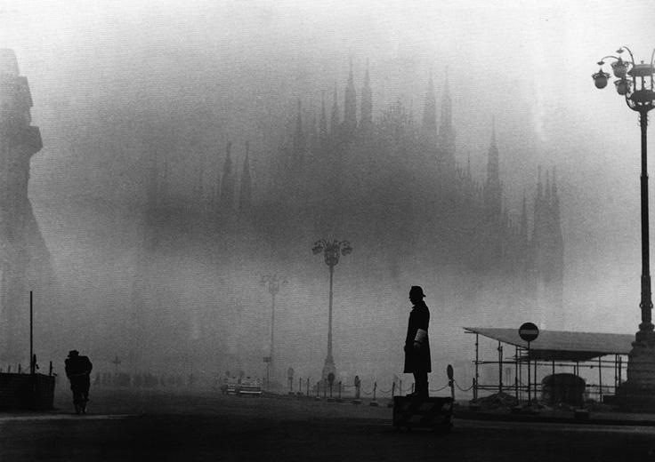 Tazio Secchiaroli. la nebbia