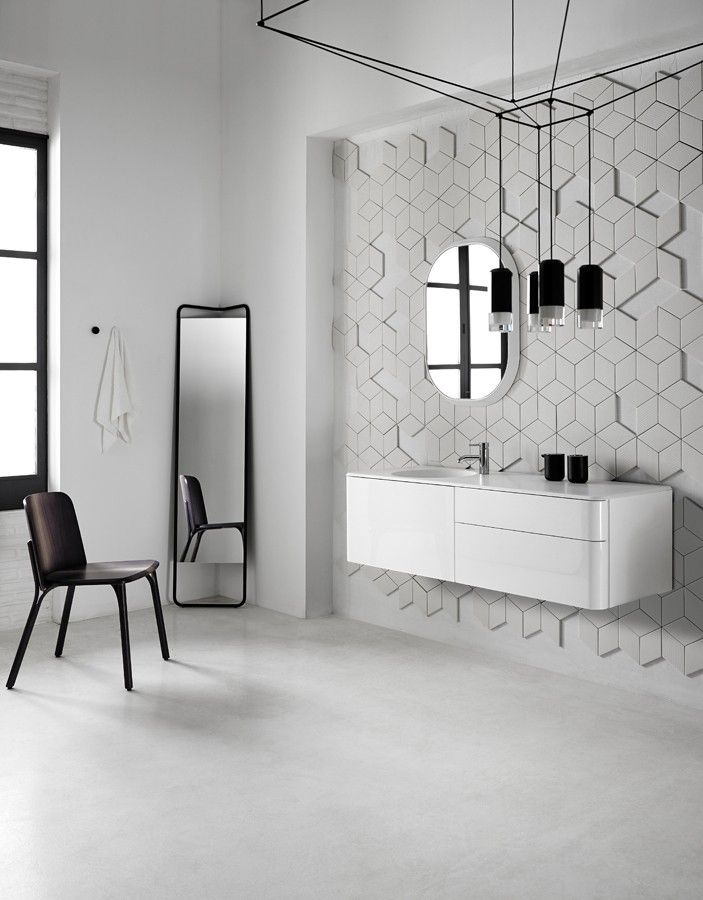 New Fluent collection. #washbasin #bathroom #design