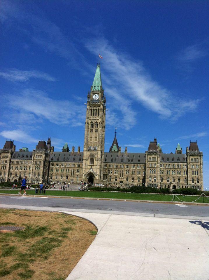 Parliament Hill Ottawa!