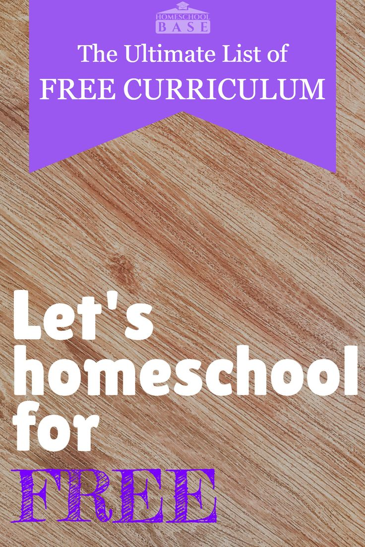 Free homeschool curriculum resource! 100s of links organized by subject and grade.