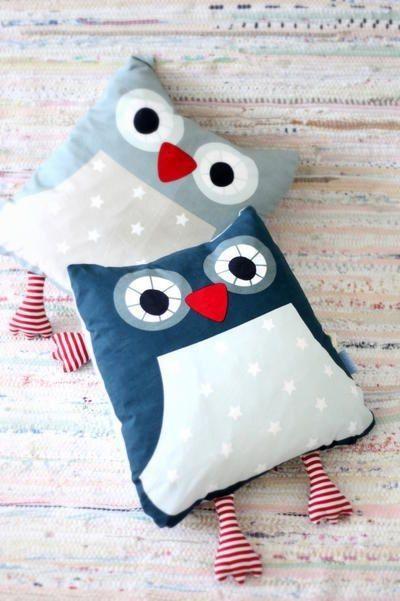 6 ideas de almohada para bebé - Ideas de Manualidades