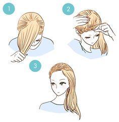 20 Tutoriels de Bases Pour Cheveux Courts et Mi-longs