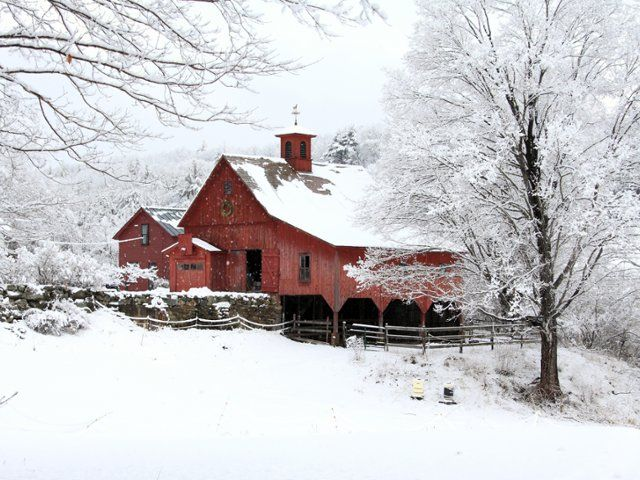 17 best images about barns on the farm on pinterest free screensavers ohio and barns - Winter farm scenes wallpaper ...