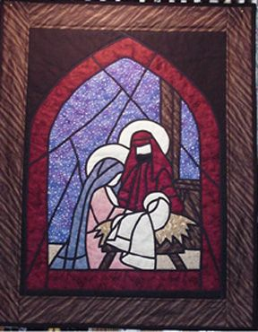 Christmas Quilt Quilting Nativity Pattern
