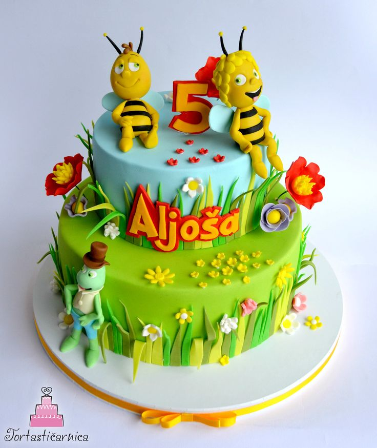 Maya the Bee cake                                                       …