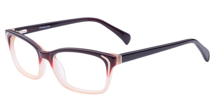 These are the classic styled eyeglasses, with square rims and traditional nose bridges.