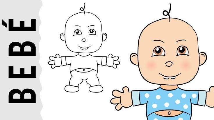 Como dibujar un Bebé paso a paso con dibujart.com