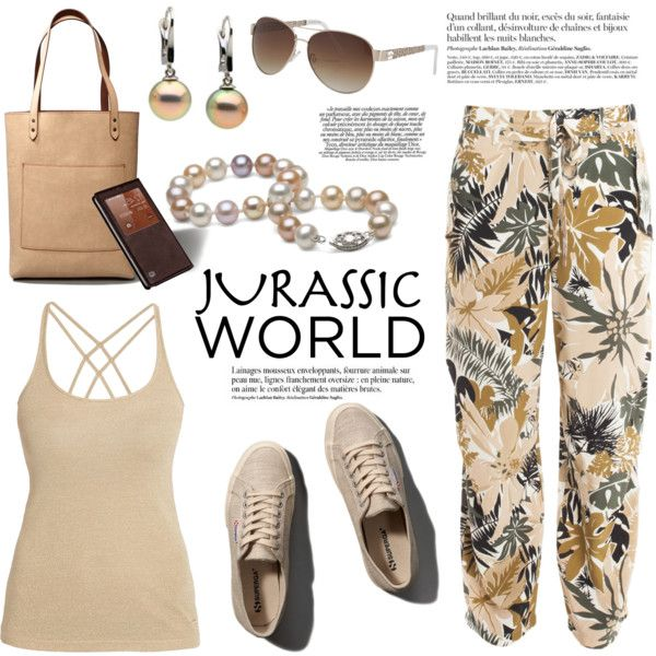Get Ready for Jurassic World by purepearls on Polyvore featuring polyvore  fashion style Morgan rag &