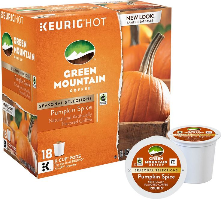 Keurig - Green Mountain Pumpkin Spice K-Cup® Pods (18-Pack)