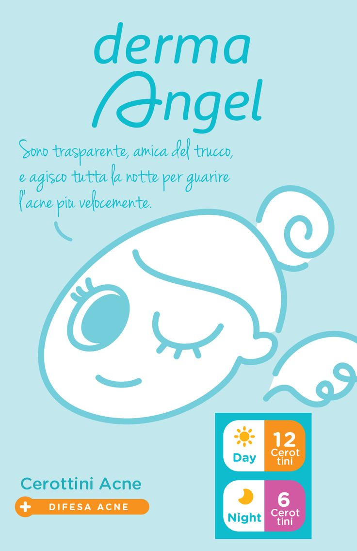 DERMA ANGEL Cerottini Acne - In Farmacia #keepcalmloveangel
