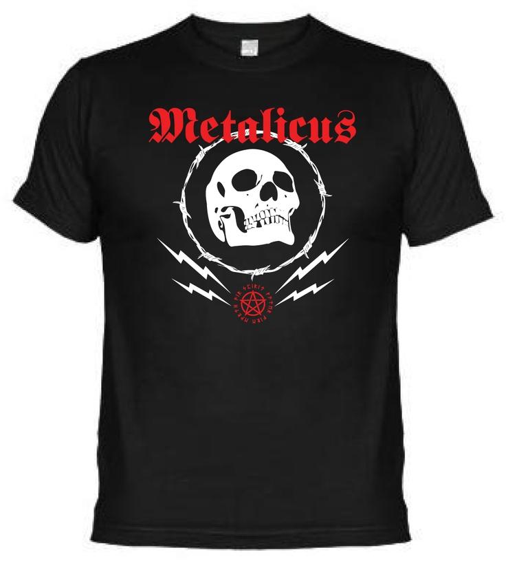 Fabrica de Camisetas Willy Bronka: dTralla Metalicus Craneo