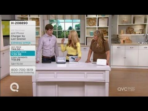 Phone Soap From Shark Tank On QVC With Host Pat James Dementri
