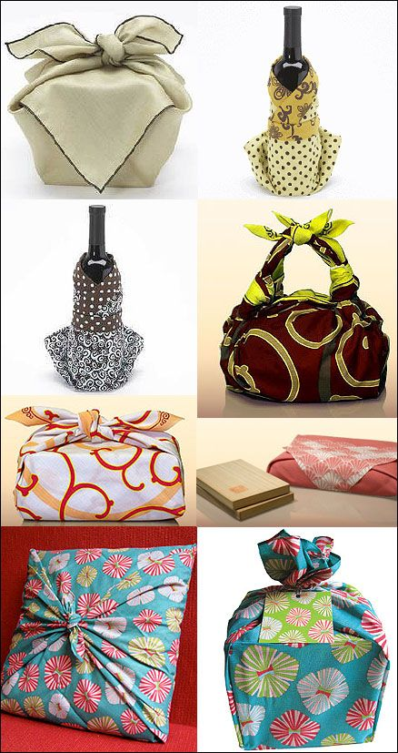 The elegant Japanese art and craft of furoshiki - beautiful gift wrapping that's re-useable and eco-friendly