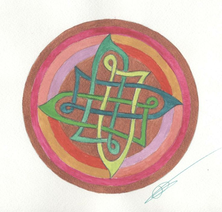 Mandala- Jaune