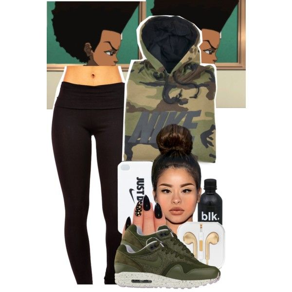 Nike by rosa-carter-perez on Polyvore featuring NIKE