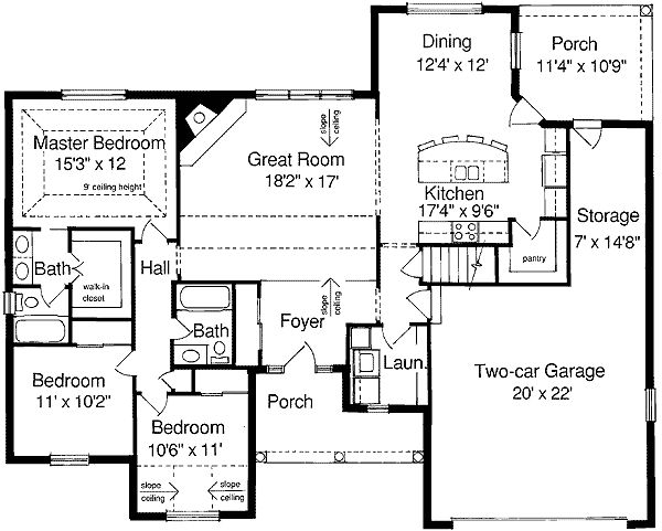 44 Best Images About 1600 Square Foot Plans On Pinterest