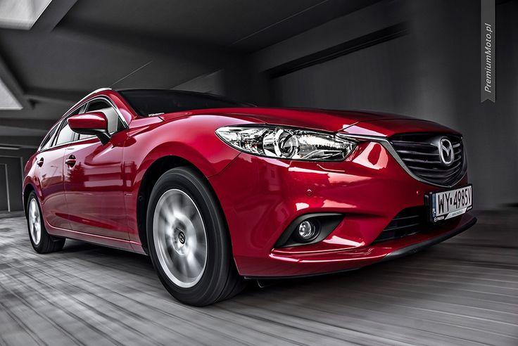 New Mazda 6 estate in motion #mazda #motion #estate more: http://premiummoto.pl/04/29/mazda-6-sport-kombi-nasza-sesja