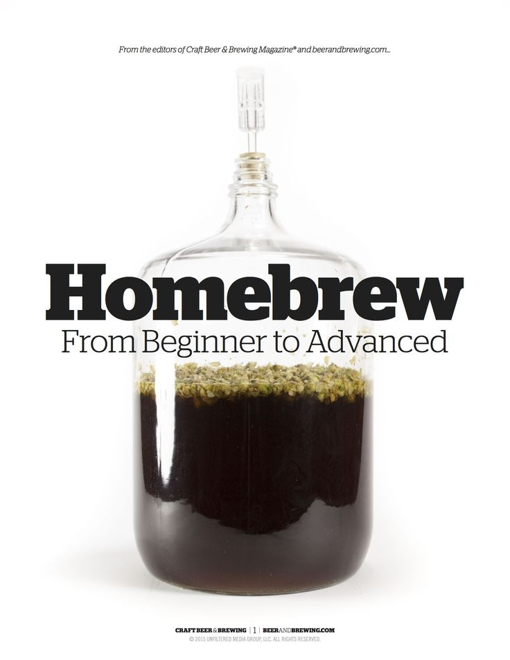 13 page illustrated guide to get you brewing better beer!