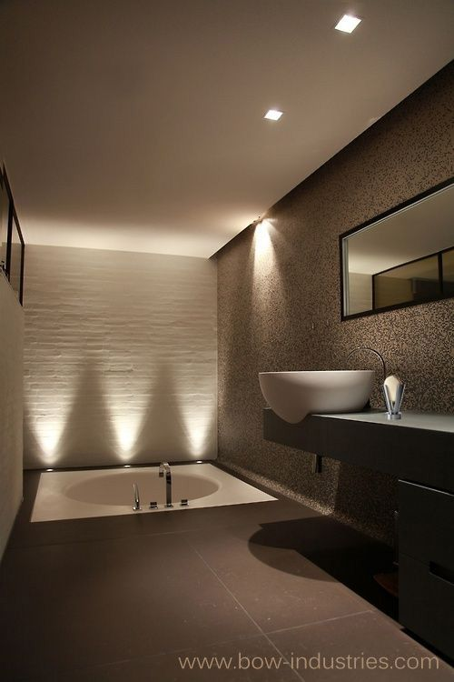 very modern and simple luxury bathroom sunken bathtub magnificent vessel sink and subtle lightingus to bring the modern world into any bathroom