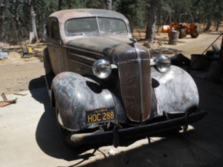 1936 chevrolet chevy master 4 door sedan for sale by owner