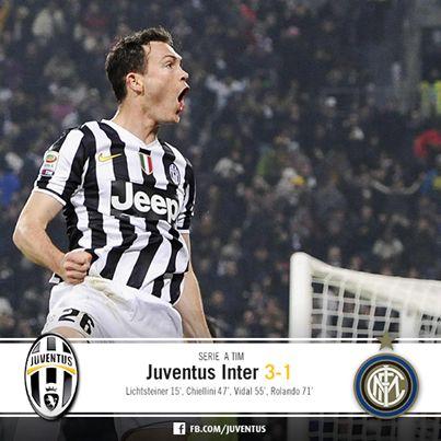 Juventus Inter 3-1 (Lichtsteiner, Chiellini, Vidal)