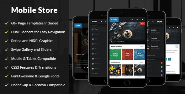 Store | Mobile & Tablet Responsive Template