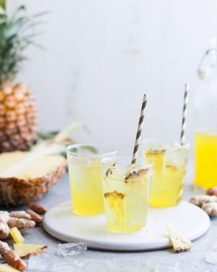 """21 Likes, 4 Comments - The Tea Mavens (@theteamavens) on Instagram: """"Try out this Pineapple Ginger Iced Tea recipe! It's both a healthy and delicious way to give your…"""""""