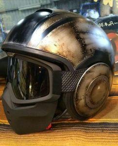shark custom motorcycle helmet