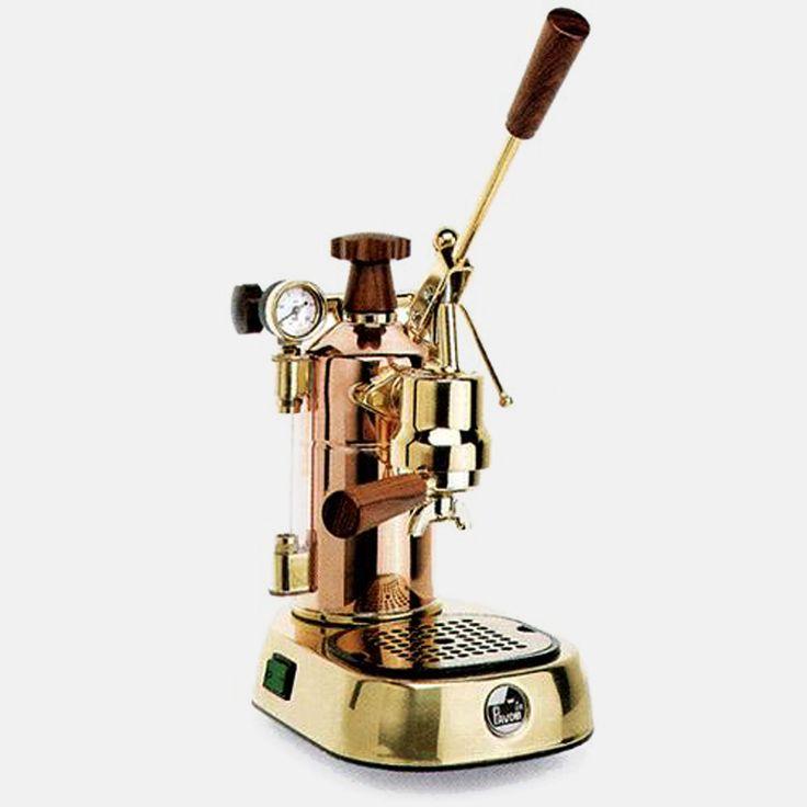 La Pavoni Europiccola Brass & Copper Esspresso Machine