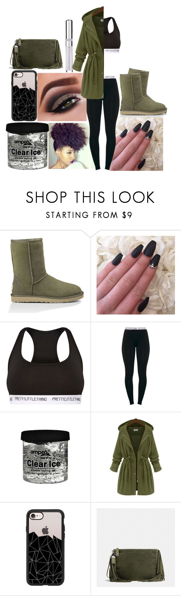 """""""Untitled #657"""" by niaa19 on Polyvore featuring UGG Australia, Casetify, Coach and Chantecaille"""