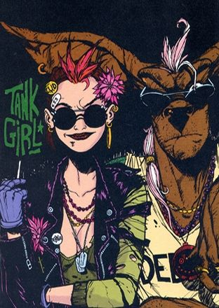 Tank Girl, by Jamie Hewlett.