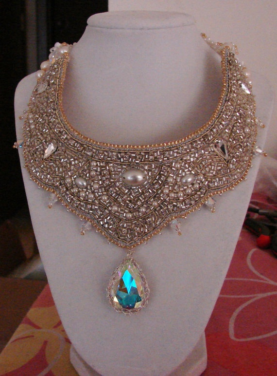 263 Best Bead Embroidery Images On Pinterest Necklaces Jewerly