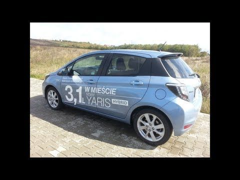 Toyota Yaris Hybrid 2013 Test - YouTube