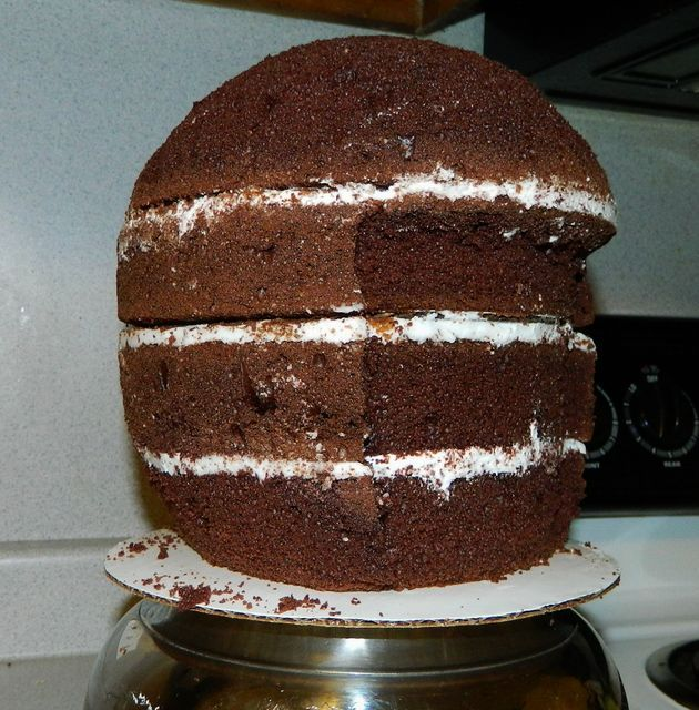 Football Helmet Cake Tutorial - CakesDecor
