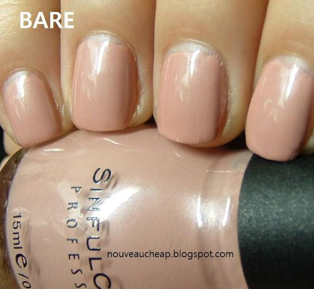 Sinful Colors Bare- this is a great summer neutral!   #surfsupvoxbox
