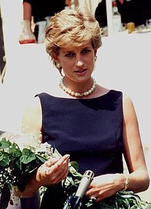 Diana Princess of Wales.  First wife of  Charles Prince of Wales.  Mother of William and Harry. Killed in car accident 1997.