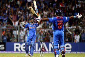 MS Dhoni Celebrate his 200 ODI Sixes with humongous maximum